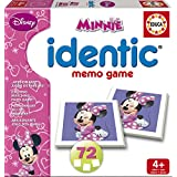 Disney - Juego Identic con motivo Minnie Mouse, color rosa (Educa Borrás 15881)