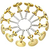 Bocotoer Ronde lade pull handgrepen keuken kast knoppen 25mm goud Toon Pack van 12