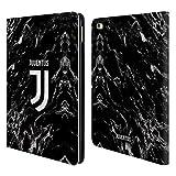 Head Case Designs Offizielle Juventus Football Club Schwarz 2017/18 Marmor Brieftasche Handyhülle aus Leder für iPad Air 2 (2014)