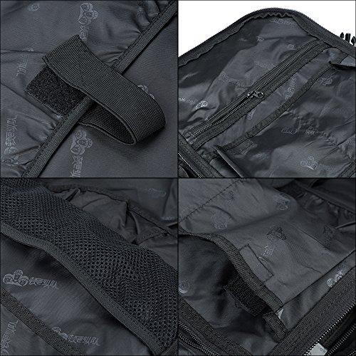 Skysper® 50L zaino di alta qualità resistente all'acqua viaggio Escursionismo dello Zaino 70L-black