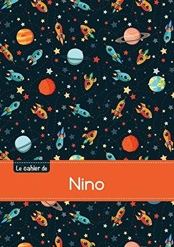 CAHIER NINO SEYES,96P,A5 ESPACE