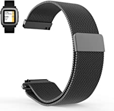invella Replacement Strap for Huami Amazfit BIP, Samsung Gear Sport, Ticwatch 2 Smartwatch - (20mm)