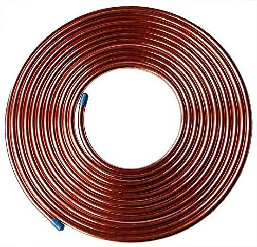 Geglüht Schlauch (B11-00971 Kupferschlauch, metrisch, geglüht, weich, 10 m Spule, 6 mm x 4,4, Kupfer, 10 m)