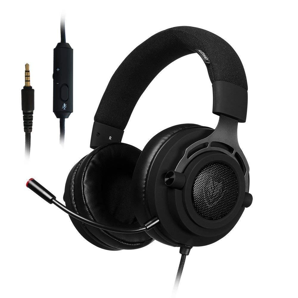 Gaming-Headset-Cuffie-Cuffia-per-PS4-Auricolari-Fabric- 96673c5c1c75