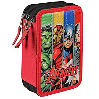 FUNTASTIC Plumier Vengadores Avengers Marvel The Team triple