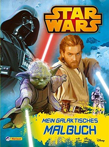 ktisches Malbuch (Star Wars Kinder)