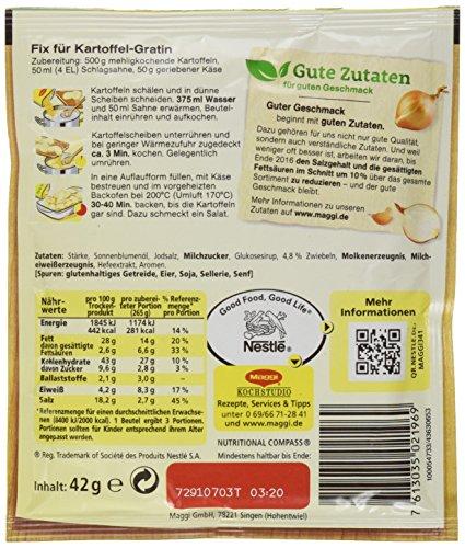 3784395a0b67a4 Billig Maggi Fix und Frisch für Kartoffelgratin