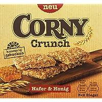 CORNY Crunch Hafer & Honig, knackiger Müsliriegel, 120g Schachtel mit 3 x 2 Riegeln
