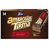 Gullón ZERO sin azúcares Barquillos Sabor Chocolate, 3 X 60G ...