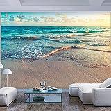 murando - Fototapete Strand Meer 350x256 cm - Vlies Tapete - Moderne Wanddeko - Design Tapete - Wandtapete - Wand Dekoration - Natur Landschaft c-B-0358-a-a