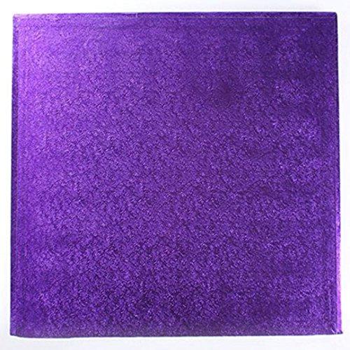 25,4 cm carré Violet pour gâteau