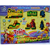 Winnie The Pooh Light & Music Battery Operated Train Series The Best Welcome Gifts For The Children
