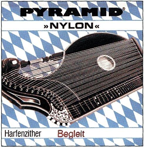 Pyramid Pyramid Saite für Zither Nylon. Harfen-/Luftresonanz-Zither Gis 34.