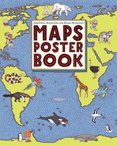 Maps Poster Book by Aleksandra Mizielinska (2016-02-23)
