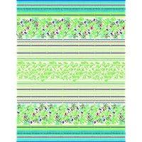 Bassetti Sorrento Configuración Foulard, algodón, verde, 180x 270x 1cm