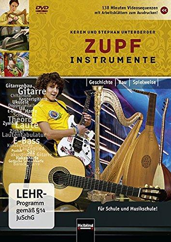 Zupfinstrumente, DVD (Instrumentenkunde im Musikunterricht)