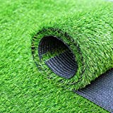 Erba artificiale, Formato Personalizzato Realistico Deluxe Erba Sintetica Spesso Lawn Turf Tappeto Ideale for Interni Esterna di Paesaggio (Size : 79x40in)