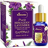#8: StBotanica Himalyan Lavender Pure Aroma Essential Oil - 15ml - Highest Quality Therapeutic Grade - with Premium Quality Glass Dropper