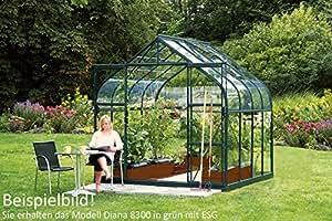 vitavia gew chshaus diana ausf hrung 8300 esg 3 mm gr n. Black Bedroom Furniture Sets. Home Design Ideas