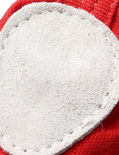 ShangYi Scarpe da ballo - Personalizzabile - Da donna - Balletto - Piatto - Di pelle / Corda / Paillette - Nero / Rosso / Bianco / Altro beige
