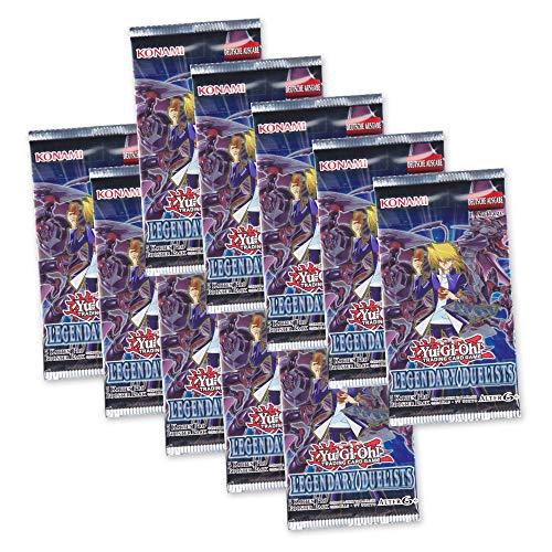 Yu-Gi-Oh! Legendary Duelists - 10 Booster Packungen 1. Auflage - Deutsche Ausgabe