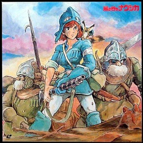 Bild von Nausicaä aus dem Tal der Winde Laserdisc NTSC-J 風の谷のナウシカ, Kaze no Tani no Naushika Laserdisc