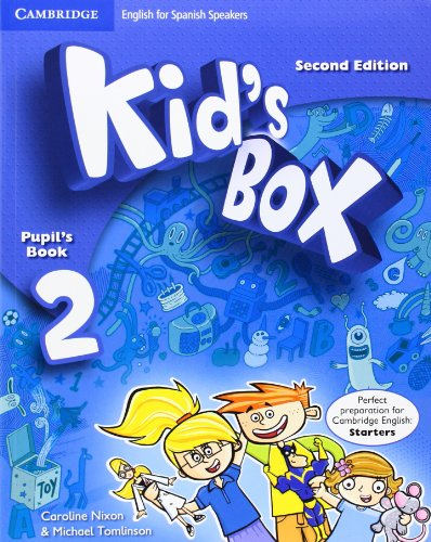 Kid's Box for Spanish Speakers Level 2 Pupil's Book with My Home Booklet Second Edition - 9788483239568 por Caroline Nixon