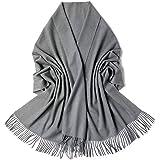 Donna Sciarpa Scialle Inverno Pashmina per Donna Scarf Wrap Caldo Scialle