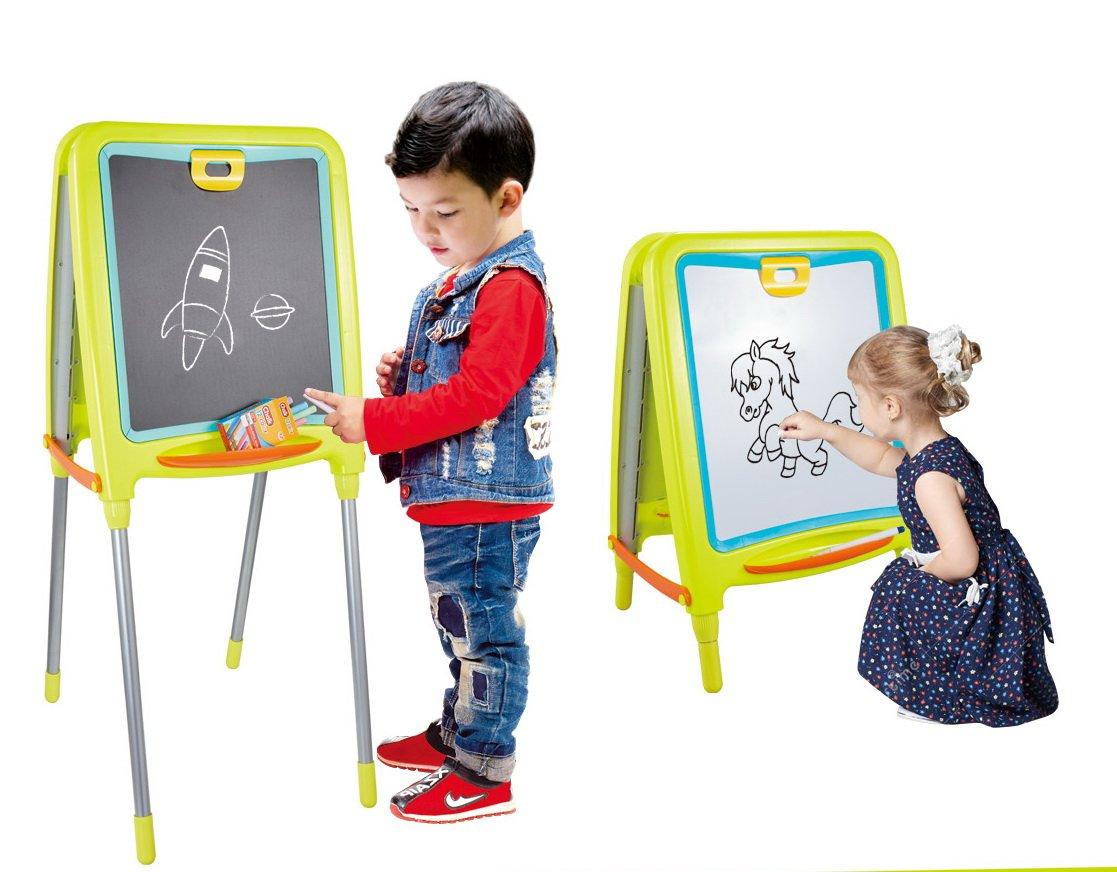 Tavolo Da Disegno Portatile : Shinehalo lavagna magnetica per bambini tavola da disegno di