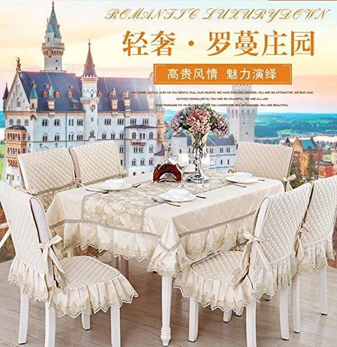 Preisvergleich Produktbild Upscale Esstisch Tuch, Tischdecken, Tischdecken, Polsterbez¨¹ge Anzug Continental Esstisch,130*180CM