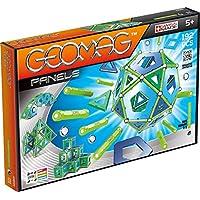 Geomag Panels 192 pcs Juego de construcción - Juegos de construcción (Azul, Verde, 5 año(s), 192 Pieza(s), Niño/niña, 460 mm, 300 mm)