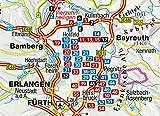 KOMPASS Wanderführer Fränkische Schweiz mit Oberem Maintal und Hersbrucker Schweiz: Wanderführer mit Extra-Tourenkarte 1:65 - 000, 55 Touren, GPX-Daten zum Download - Lisa Aigner