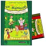 Vier neue Minimusicals zur Advents- und Weihnachtszeit - SET: Notenbuch und PLayback CD - Autor: Reinhard Horn, Hans-Jürgen Netz -
