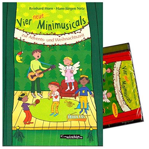 quatre-nouveaux-minimus-icals-de-lavent-et-de-periode-de-noel-set-note-livre-et-lecture-cd-auteur-re