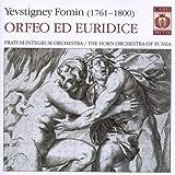 Fomin : Orfeo ed Euridice. Serbin.