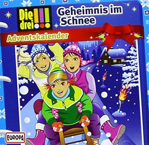 Drei !!! Adventskalender 2015 - Geheimnis im Schnee