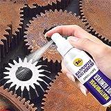 Rimozione sicura della ruggine per auto, pulizia del blocco della ruggine Non tossico Dissolver Ruggine Spray a sbattimento rapido Ruggine Smacchiatore per superficie metallica Vernice cromata (120ML)