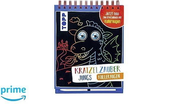 Malbücher für Kinder Mal- & Zeichenmaterialien für Kinder Kratzelzauber Kulleraugen für Jungs Buch Spiralbindung Deutsch 2018