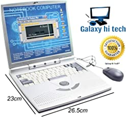 Galaxy Hi-Tech Activities & Games Fun Laptop Notebook Computer Toy for Kids
