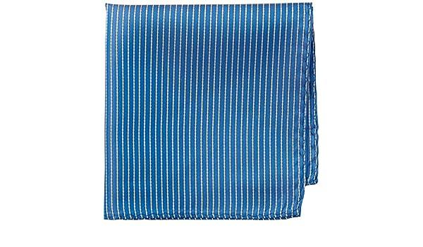 Handkerchief - Sky blue with white pencil stripes - Notch OBELIX Notch