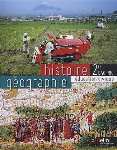 Histoire géographie éducation civique 2e