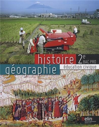 Histoire géographie éducation civique 2e pro