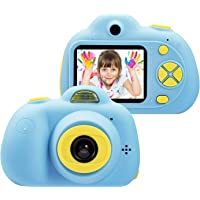 Smars® Mini Digital Children's Camera IPS HD Screen 100 Degree Toy Photography Video Kids Camera for Kids Gift