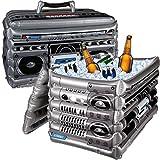 Bada Bing XL aufblasbare Kühlbox Getränkekühler Ghettoblaster Boom Box ca. 60 x 40 cm