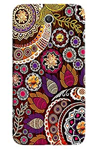 Omnam Jaipuri Beautiful Pattern Printed Designer Back Cover Case For Lenovo Zuk Z1
