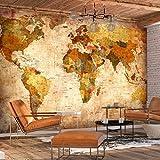 murando - Papier peint intissé Vintage 350x256 cm - Papier peint - Tableaux muraux - Déco - XXL Carte du monde k-A-0315-a-a