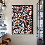 tzxdbh Moderne Pop Graffiti Wandkunst Leinwand Malerei Abstrakte Bunte Poster Und Drucke Dekoration Wandbilder