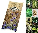 Saatgut Set: 'Tropische Nutzpflanzen': Kaffee, Banane, Maracuja, Reis, Tee - 5 weltberühmte exotische Pflanzen als Samen in schöner Geschenk-Verpackung
