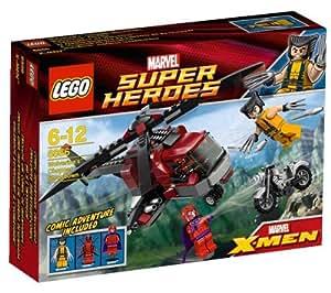 LEGO Super Heroes - L'hélicoptère de Wolverine - 6866