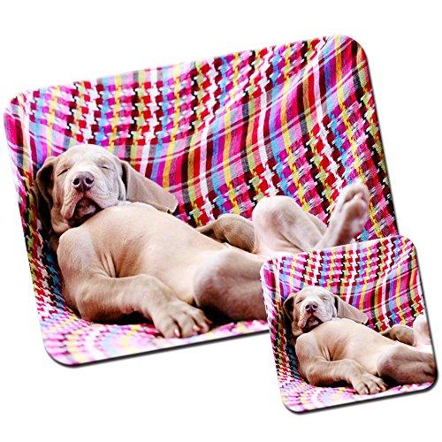 weimaraner-vorstehhund-grey-ghost-dog-mouse-mat-pad-e-set-di-sottobicchieri-weimaraner-puppy-nap-tim